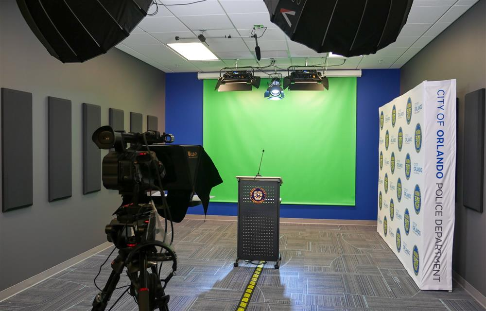Media Studio for the Orlando Police Department